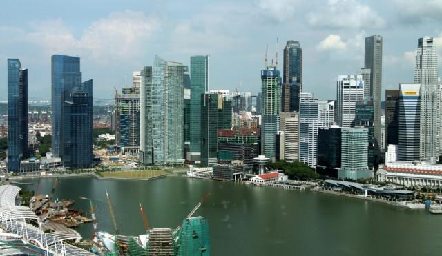 Город высоких зданий и высоких технологий