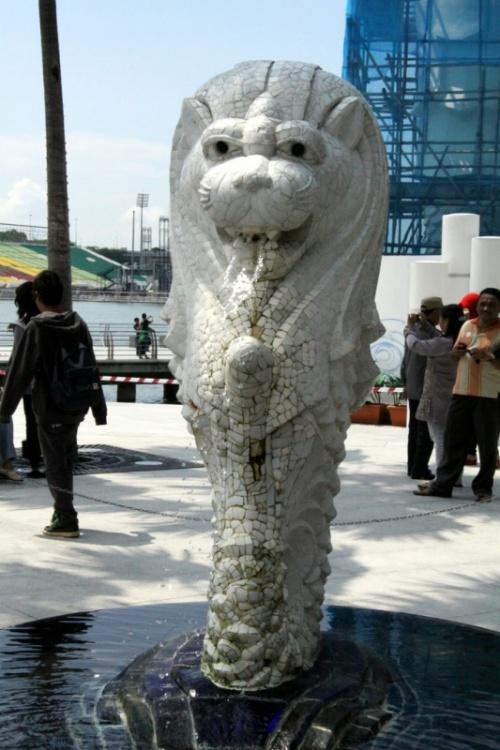 Мерлион - статуя морского льва