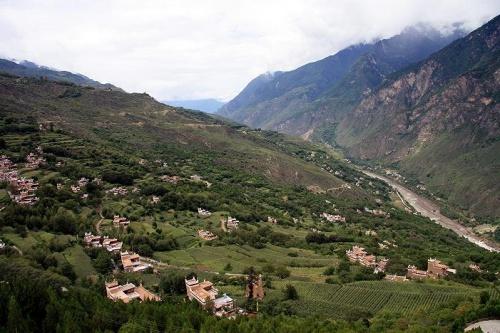 деревенька племени Данба