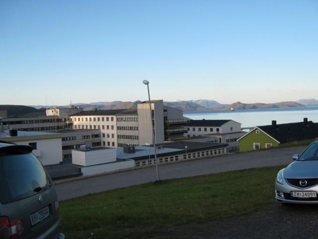 Место моей работы-больница Хаммерфеста