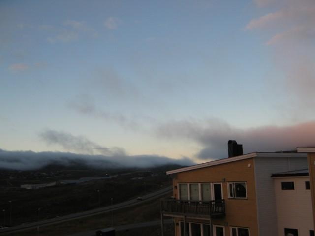 И вдруг  откуда-то появился туман..