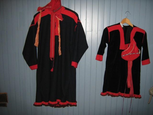 Одежда саамов