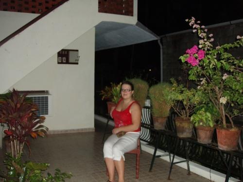 общий балкон нашего геста в форте Кочин