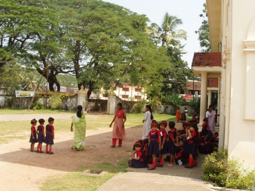 школа в форте Кочин