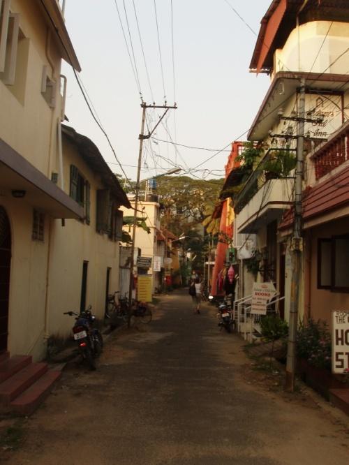 тихая улочка Кочина