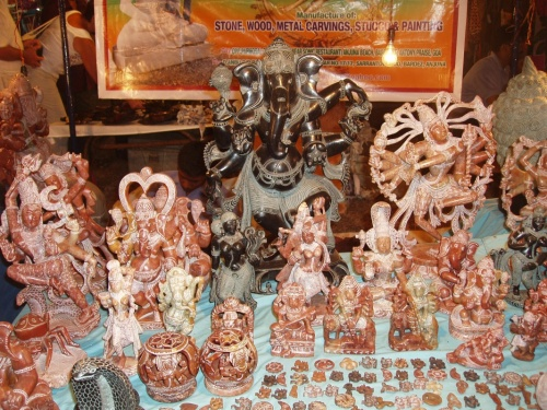 многоликие Боги Индии в камне