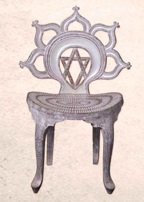 Mandala room  - стульчик Лотус для просвещения