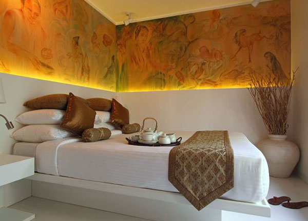 Nirvana комнате на этаже Саттва