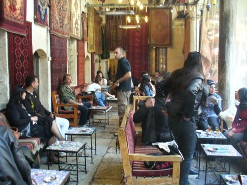 любимая кафешка, в мечети, район Беязит