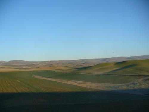 пейзаж -подъезжая к Анкаре