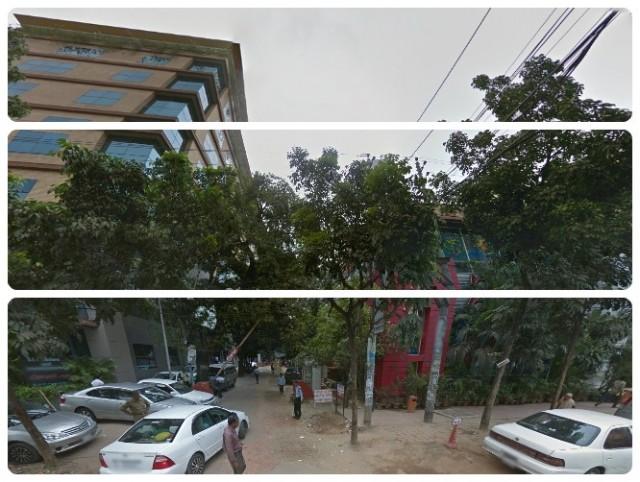 Дорога к Посольству и Консульству Индии в Бангладеш
