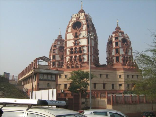 кришнаитский храм