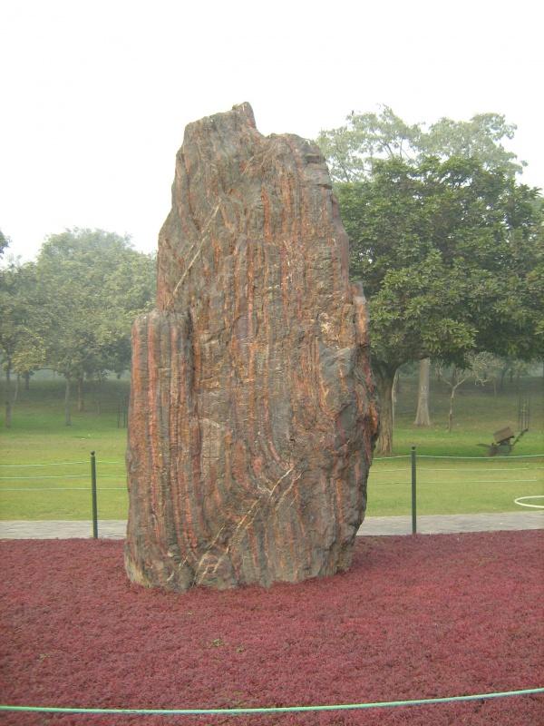 на могиле Индиры Ганди