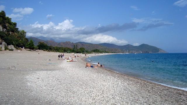 Пляж в Олимпосе