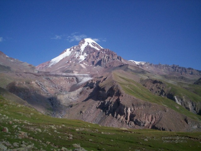 Хевия. Гора Казбег