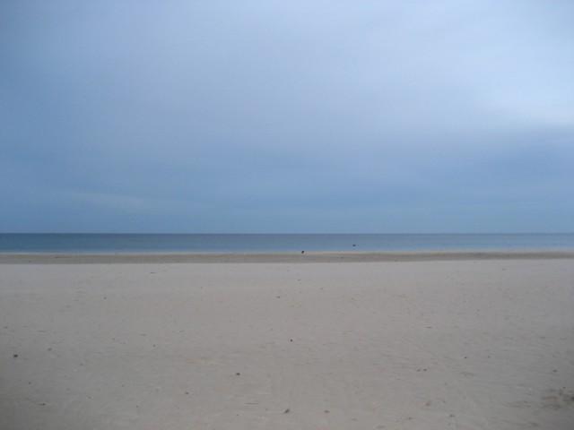 Вот сам пляж Тринко