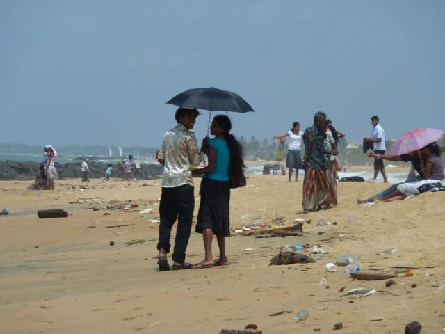 такой вот пляж в Негомбо