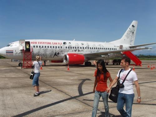 весёлые тайские самолёты