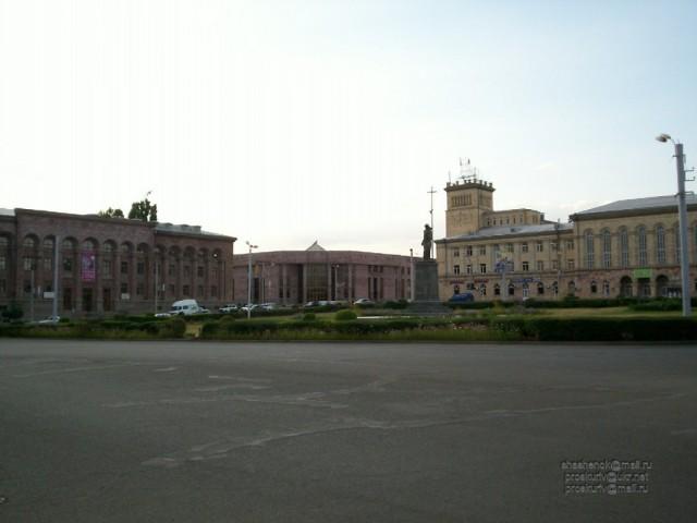 Гюмри. Центральная площадь