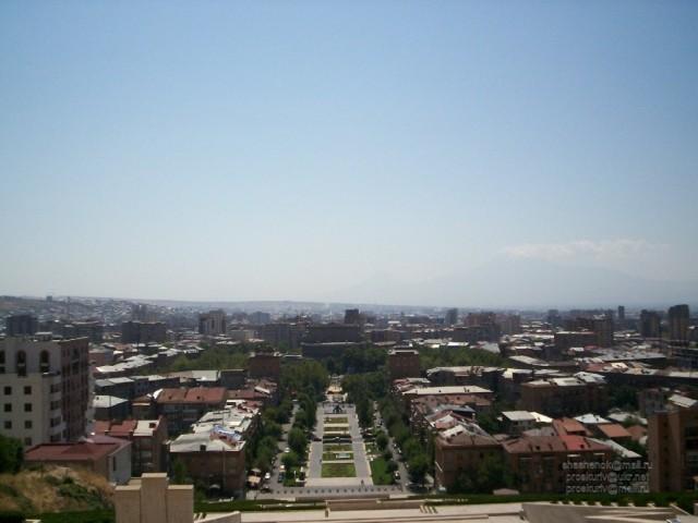 Ереван. Вид с Каскада