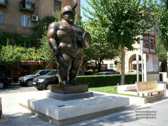 Ереван. Парк возле Каскада