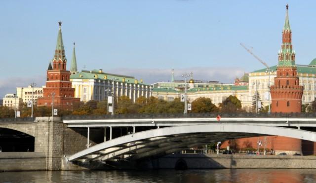 Большой Каменный мост возле Кремля