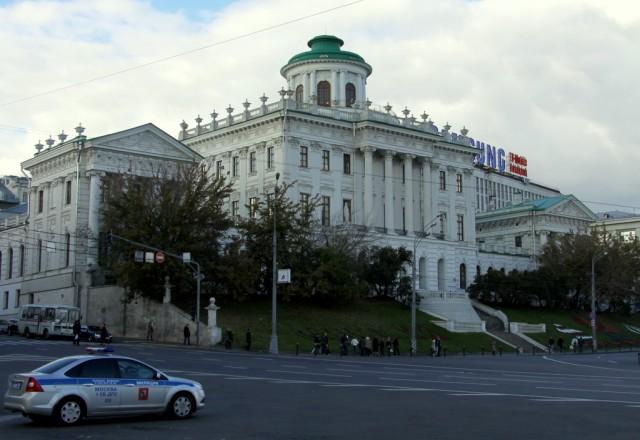 Дом Пашкова - в нем жил булгаковский Воланд