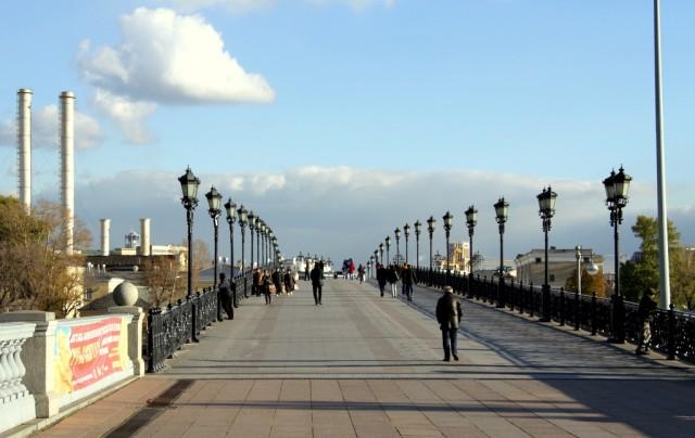 Патриарший мост в память святейшего Алексия II