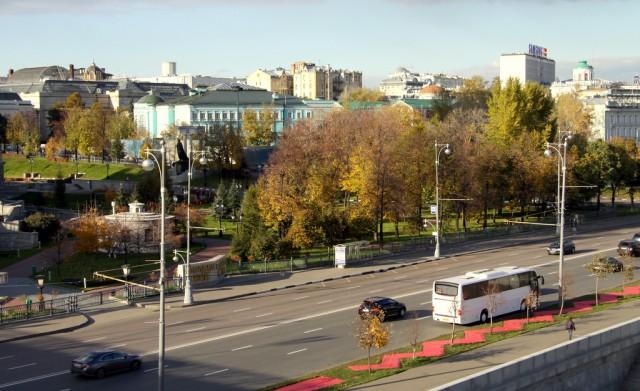 Москва осенняя