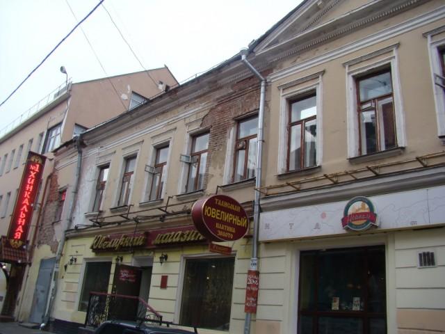 Спасоглинищевский переулок