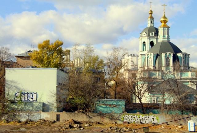 Современные фишки: граффити и биотуалет