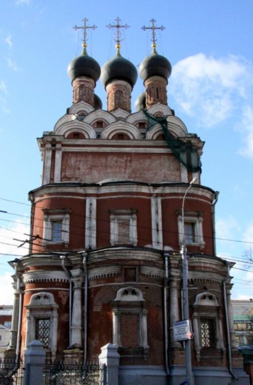 Храм Николая на Болвановке известен с 1632 г.