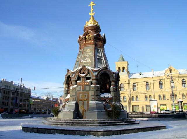Памятник гороям Плевны – здесь любят собираться гомики