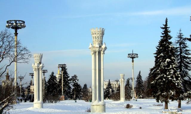 ВВЦ зимний