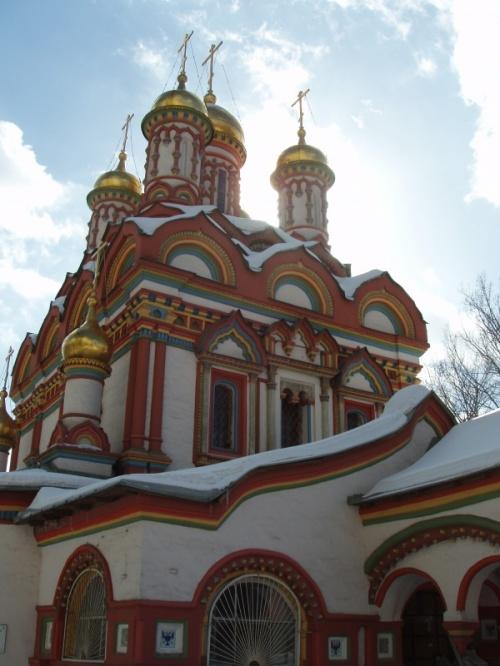 Церковь Святителя Николая Чудотворца на Берсеневке с палатами Аверкия Кириллова