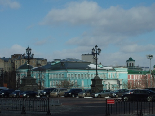 Дом-музей Ильи Глазунова на Волхонке.
