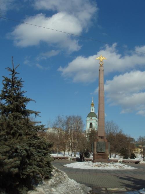 """Яузские ворота. Памятник """"Пограничникам отечества"""""""