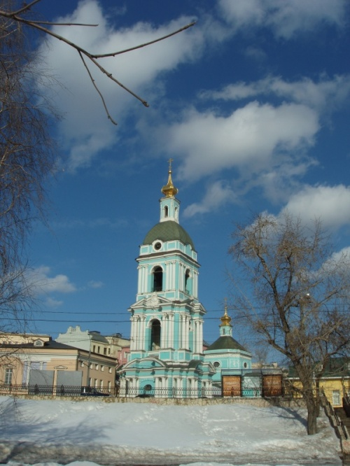 Храм Троицы Живоначальной в Серебряниках.