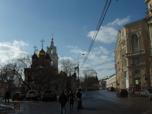 храм Георгия Победоносца (Покрова Пресвятой Богородицы на Псковской горке. Колокольня и трапезная)