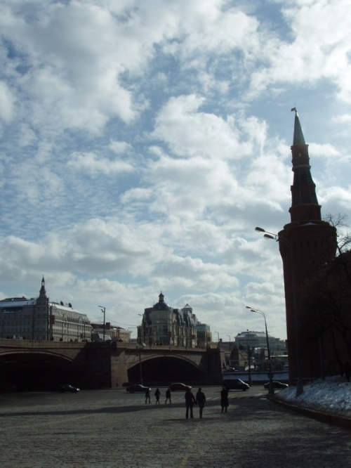 вид с Красной площади на Балчуг