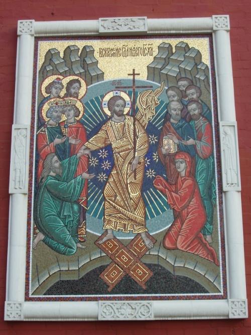 Икона на Воскресенских воротах.