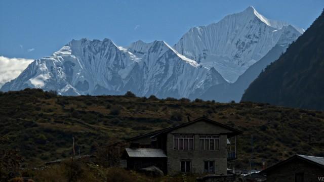 Вид из деревни.