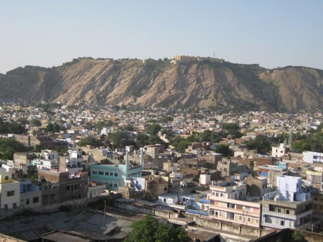 вид из Джайпура