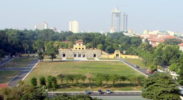 Ханойская крепость занимает большую территорию