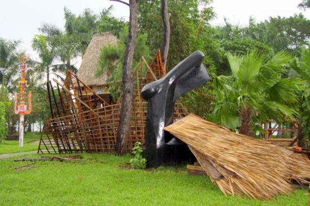 Шалаши и пальмы