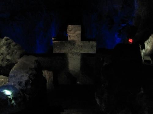 крест из соли