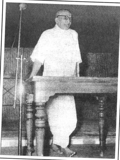 Шри Вагиша Брахматантра Паракала Свами, один из наставников Кришнамачарьи.