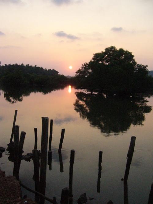 Закат в Сайпеме. Гоа