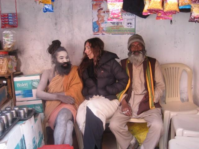 Мария Мансурова в Северной Индии