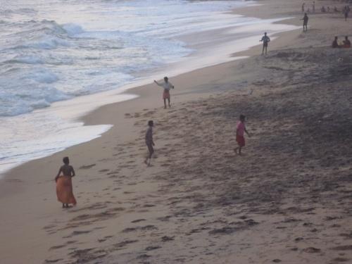 Кералы. Футбол на пляже в Керале